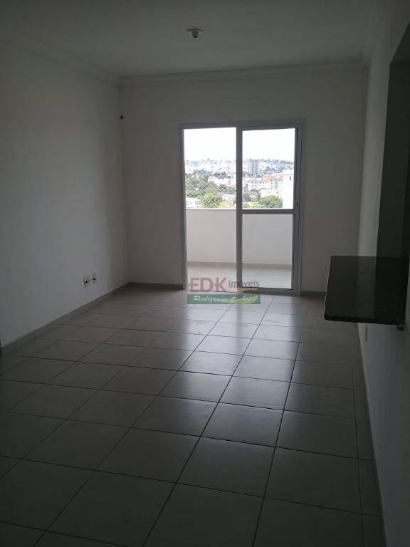 apartamento com 2 dormitórios para alugar, 80 m² por r$ 1.300/mês - vila são josé - taubaté/sp - ap3323