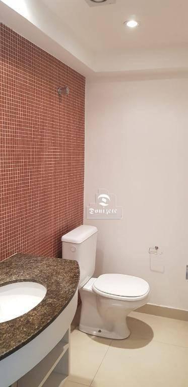apartamento com 2 dormitórios para alugar, 80 m² por r$ 1.500/mês - jardim bela vista - santo andré/sp - ap13434