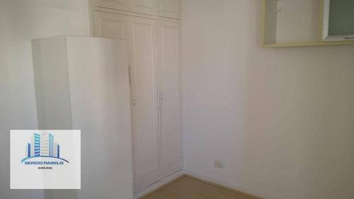apartamento com 2 dormitórios para alugar, 80 m² por r$ 2.200/mês - brooklin - são paulo/sp - ap3441