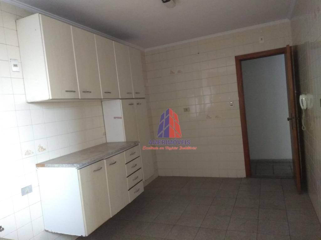 apartamento com 2 dormitórios para alugar, 80 m² por r$ 650/mês - edifício guarani - vila rehder - americana/sp - ap0513
