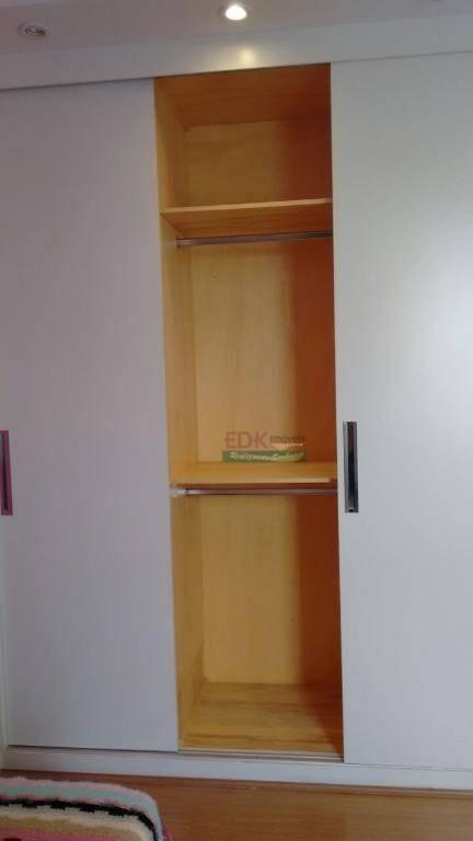apartamento com 2 dormitórios para alugar, 89 m² por r$ 2.350,00/mês - barranco - taubaté/sp - ap0059