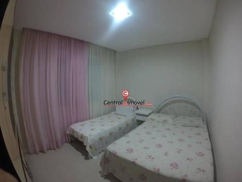 apartamento com 2 dormitórios para alugar, 90 m² por r$ 1.200,00/dia - centro - balneário camboriú/sc - ap0888