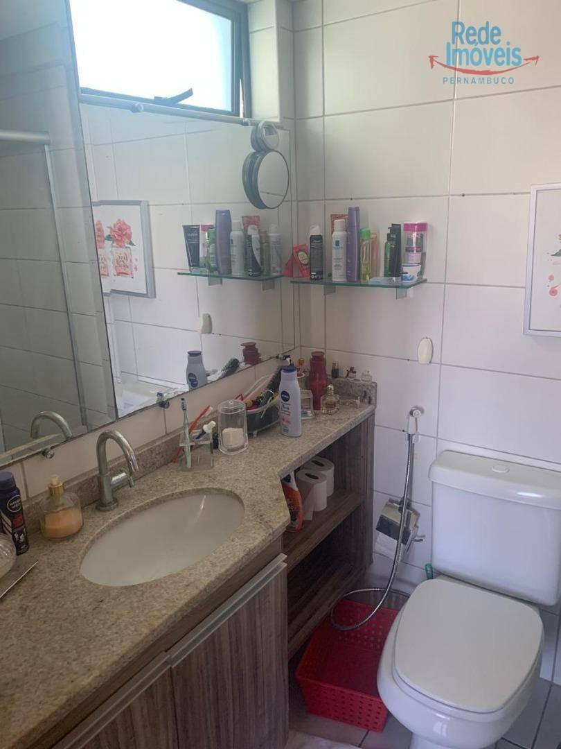 apartamento com 2 dormitórios para alugar, 90 m² por r$ 3.700/mês - boa viagem - recife/pe - ap10146