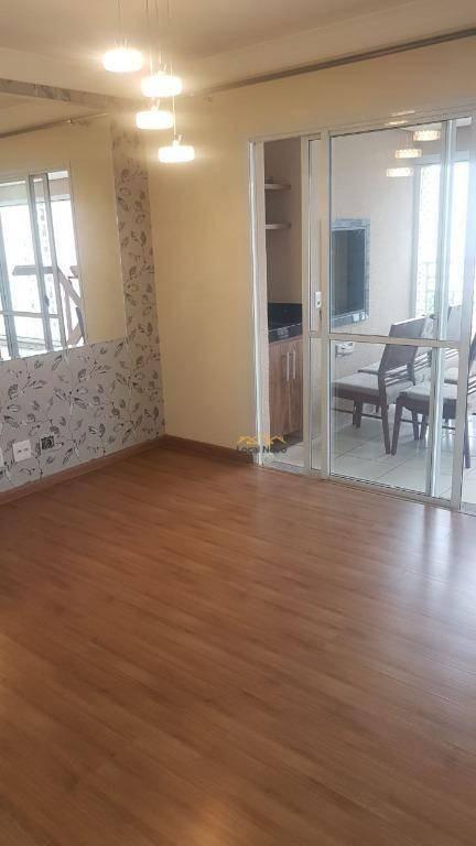 apartamento com 2 dormitórios para alugar, 92 m² por r$ 2.700/mês - vila augusta - guarulhos/sp - ap0797