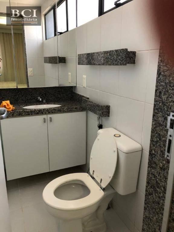 apartamento com 2 dormitórios para alugar, 92 m² por r$ 3.800,00/mês - boa viagem - recife/pe - ap3312