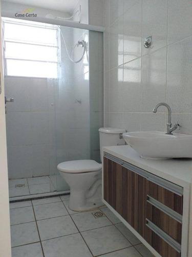 apartamento com 2 dormitórios para alugar mobiliado por r$ 900/mês - recanto dos passaros i - mogi guaçu/são paulo - ap0136