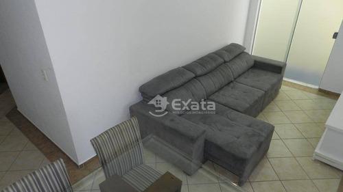 apartamento com 2 dormitórios para alugar, por r$ 1.050/mês - jardim prestes de barros - sorocaba/sp - ap0235