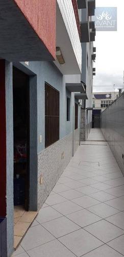 apartamento com 2 dormitórios para alugar por r$ 1.150/mês - centro - suzano/sp - ap0224