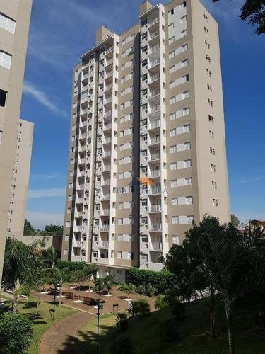 apartamento com 2 dormitórios para alugar por r$ 900/mês - jardim esmeralda - limeira/sp - ap0452