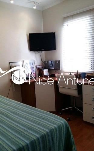 apartamento com 2 dormitórios sendo 1 suíte. - na3347