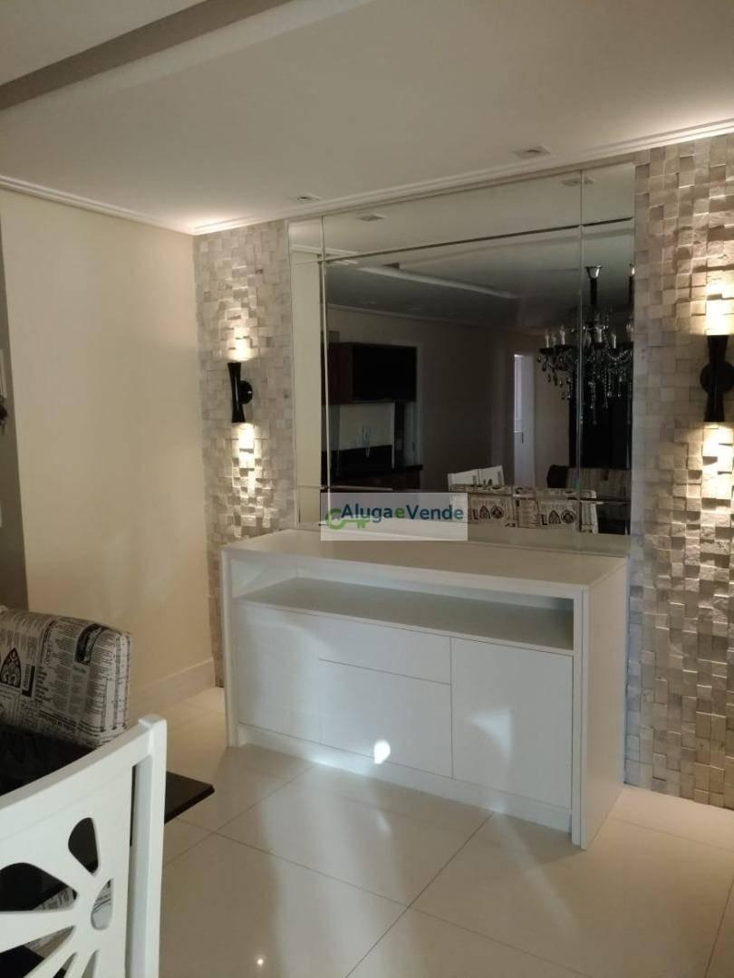 apartamento com 2 dormitórios, sendo 2 suítes todo mobiliado à venda no condomínio supera, 110 m² por r$ 690.000 - vila augusta - guarulhos/sp - ap0213