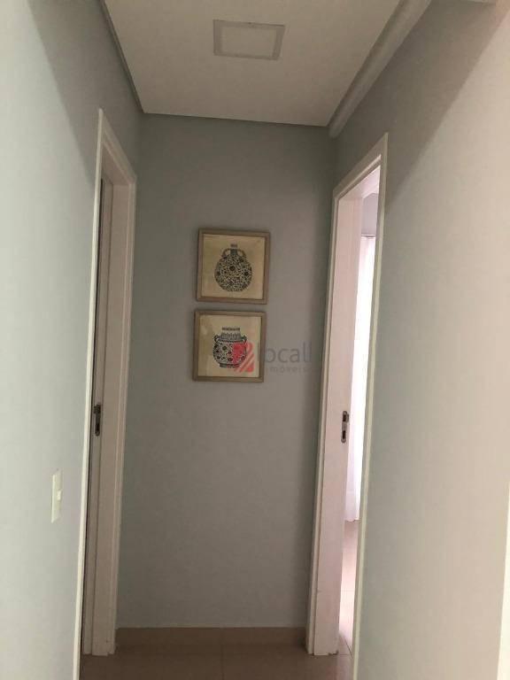 apartamento com 2 dormitórios suíte à venda, 72 m² por r$ 600.000 - jardim tarraf ii - são josé do rio preto/sp - ap2077