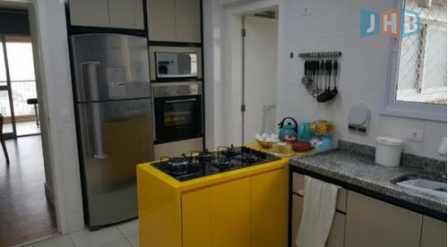 apartamento com 2 dormitórios à venda, 102 m² por r$ 570.000 - jardim das indústrias - são josé dos campos/sp - ap1986
