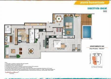 apartamento com 2 dormitórios à venda, 102 m² por r$ 980.000,00 - piratininga - niterói/rj - ap2563