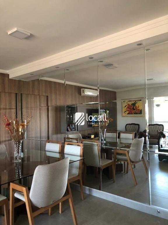apartamento com 2 dormitórios à venda, 104 m² por r$ 680.000,00 - jardim urano - são josé do rio preto/sp - ap1650