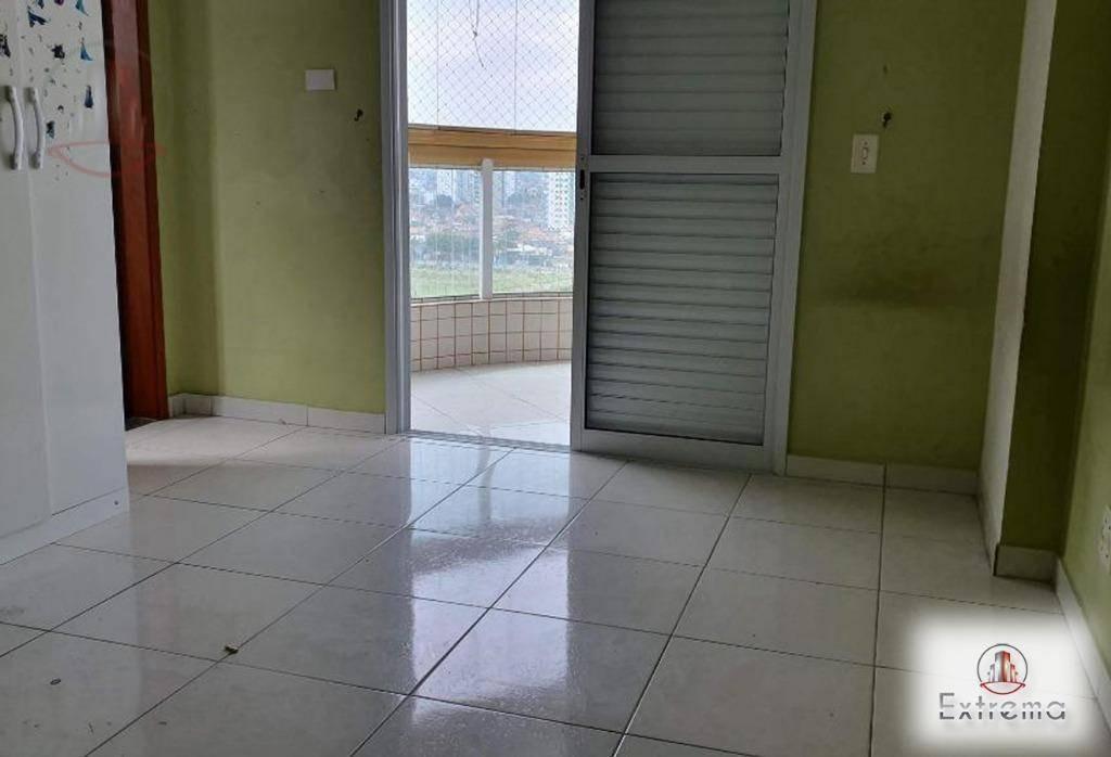 apartamento com 2 dormitórios à venda, 105 m² por r$ 420.000,00 - aviação - praia grande/sp - ap1133