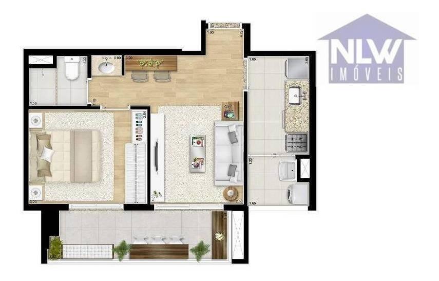 apartamento com 2 dormitórios à venda, 108 m² por r$ 582.699 - tatuapé - são paulo/sp - ap2135