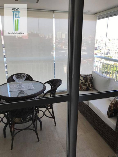 apartamento com 2 dormitórios à venda, 110 m² por r$ 950.000 - mandaqui - são paulo/sp - ap0584
