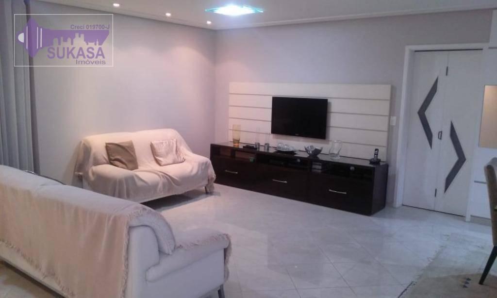 apartamento com 2 dormitórios à venda, 144 m² por r$ 904.000,00 - centro - santo andré/sp - ap0474