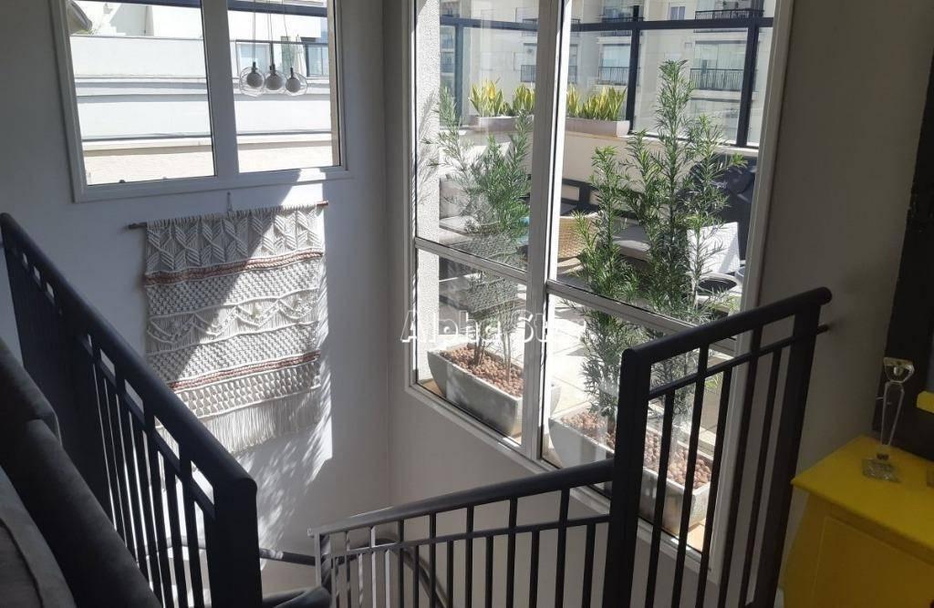 apartamento com 2 dormitórios à venda, 196 m² por r$ 890.000 - edifício altos da mata - barueri/sp - ap1732