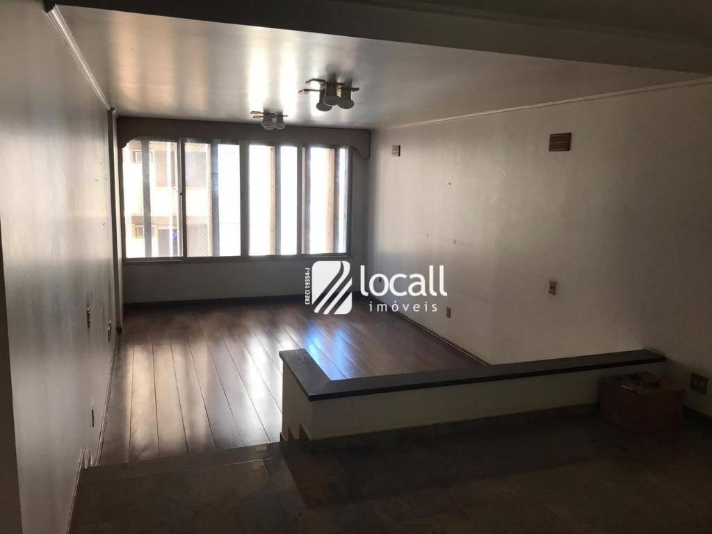 apartamento com 2 dormitórios à venda, 217 m² por r$ 560.000 - centro - são josé do rio preto/sp - ap1861