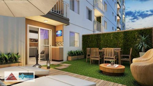 apartamento com 2 dormitórios à venda, 38 m² a partir de r$ 173.000 - itaquera - são paulo/são paulo - ap5699