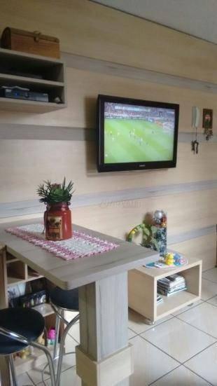 apartamento com 2 dormitórios à venda, 38 m² por r$ 110.000,00 - canudos - novo hamburgo/rs - ap1531