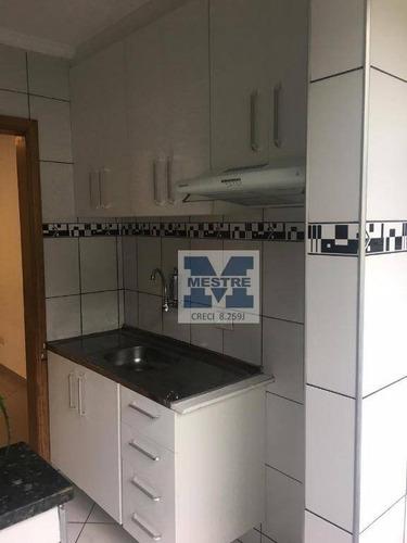 apartamento com 2 dormitórios à venda, 40 m² por r$ 215.000 - jardim valéria - guarulhos/sp - ap1568