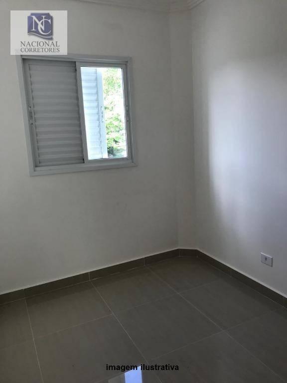 apartamento com 2 dormitórios à venda, 40 m² por r$ 240.000,00 - vila homero thon - santo andré/sp - ap9839