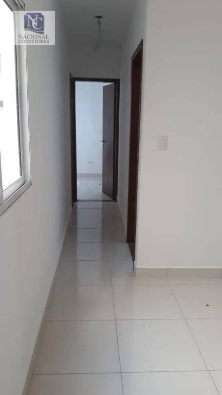 apartamento com 2 dormitórios à venda, 41 m² por r$ 205.000 - jardim alzira franco - santo andré/sp - ap8819