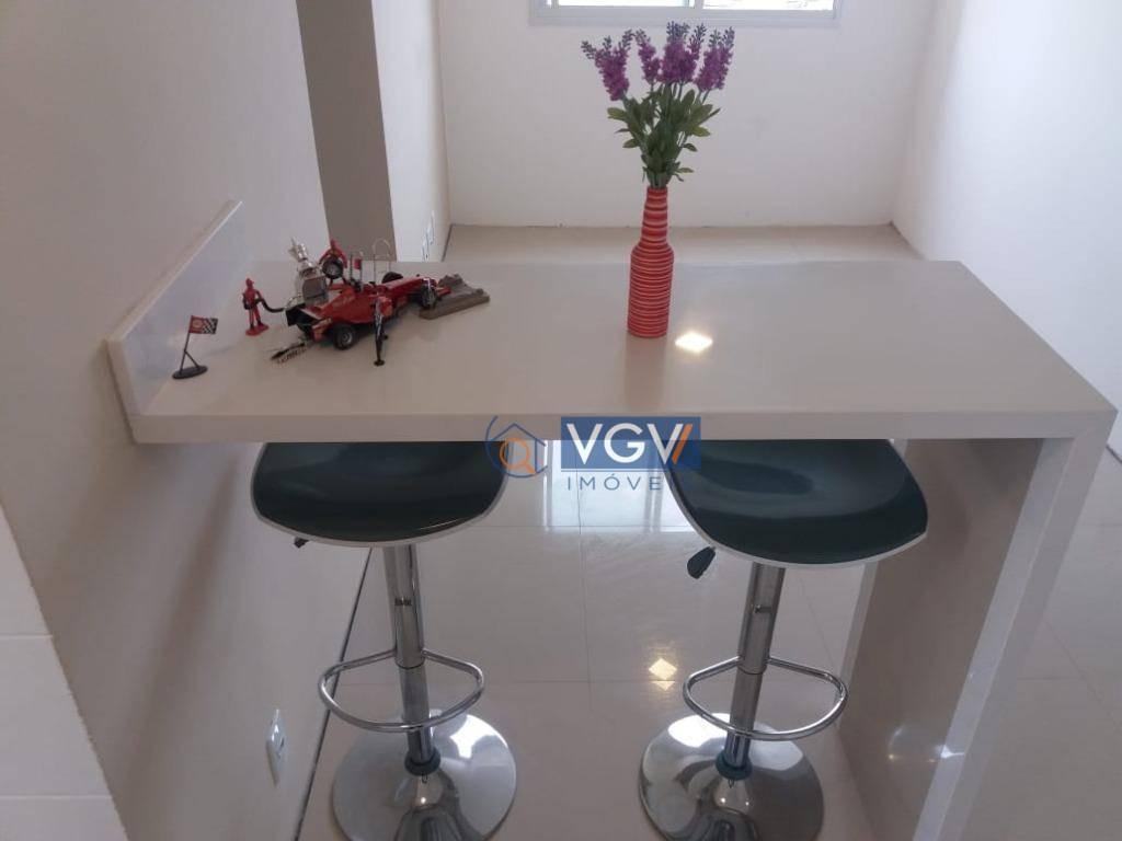 apartamento com 2 dormitórios à venda, 41 m² por r$ 280.000 - cambuci - são paulo/sp - ap3609