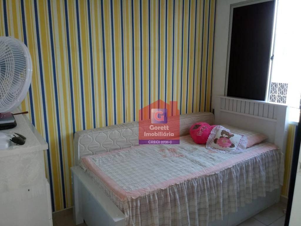 apartamento com 2 dormitórios à venda, 42 m² por r$ 135.000 - nova parnamirim - parnamirim/rn v0771 - ap0371
