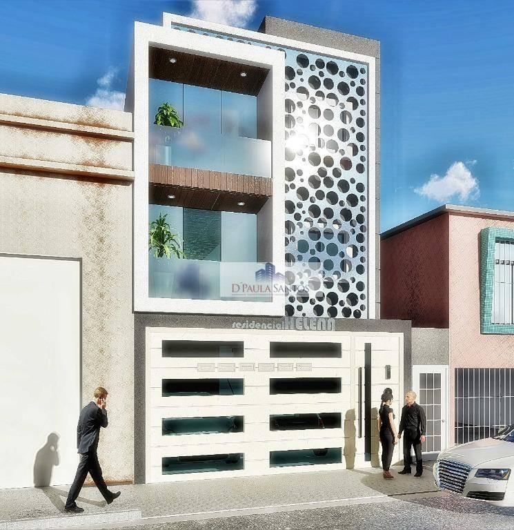 apartamento com 2 dormitórios à venda, 42 m² por r$ 265.000 - vila formosa - são paulo/sp - ap0184