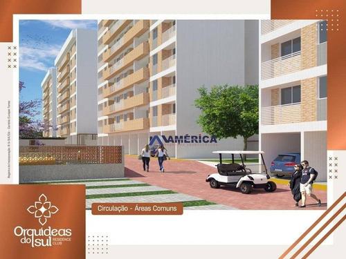apartamento com 2 dormitórios à venda, 43 m² por r$ 159.900 - bancários - joão pessoa/pb - ap0341