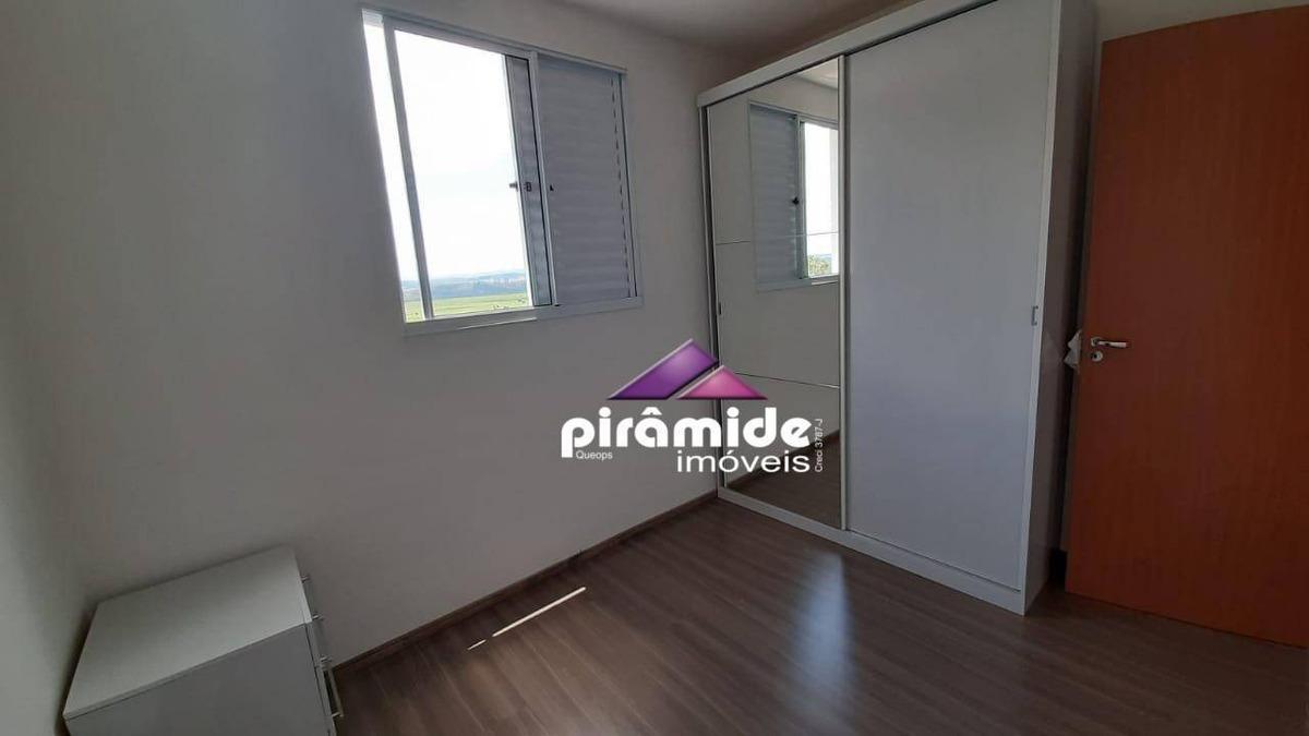 apartamento com 2 dormitórios à venda, 43 m² por r$ 260.000,00 - jardim das indústrias - são josé dos campos/sp - ap11579