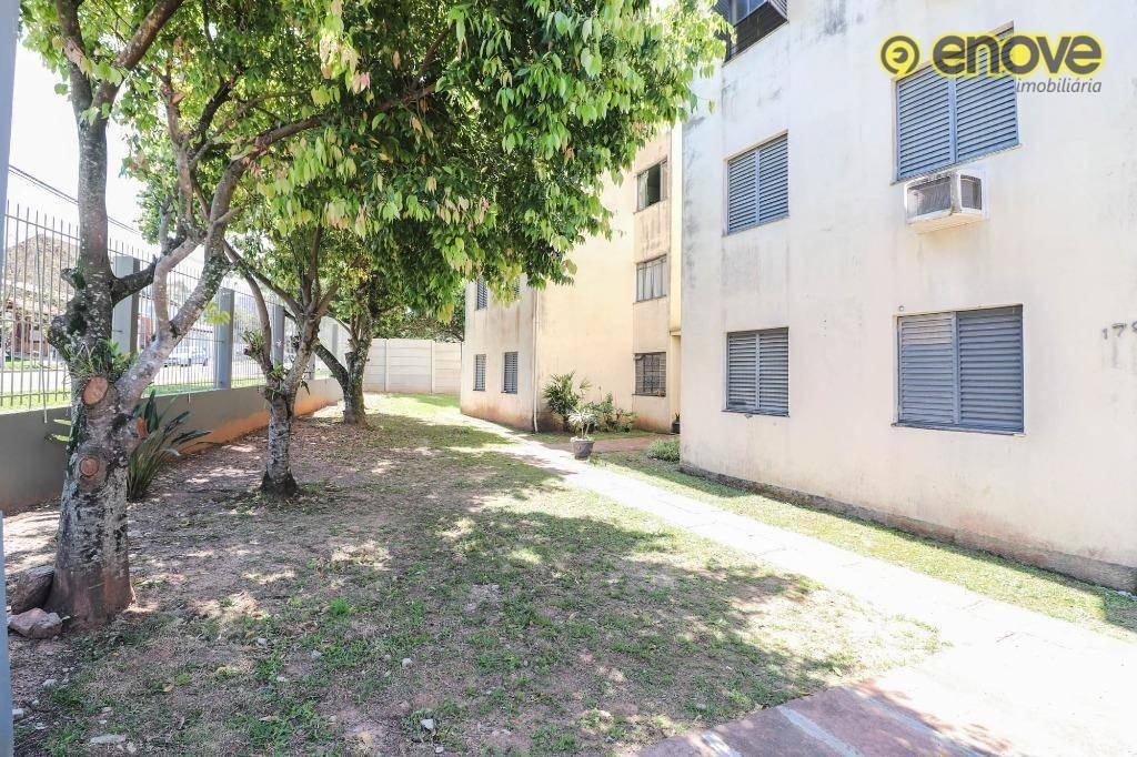 apartamento com 2 dormitórios à venda, 44 m² por r$ 130.000 - rondônia - novo hamburgo/rs - ap0322