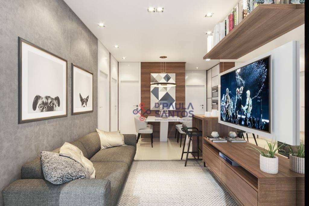 apartamento com 2 dormitórios à venda, 44 m² por r$ 130.871,33 - vila carmosina - são paulo/sp - ap0248