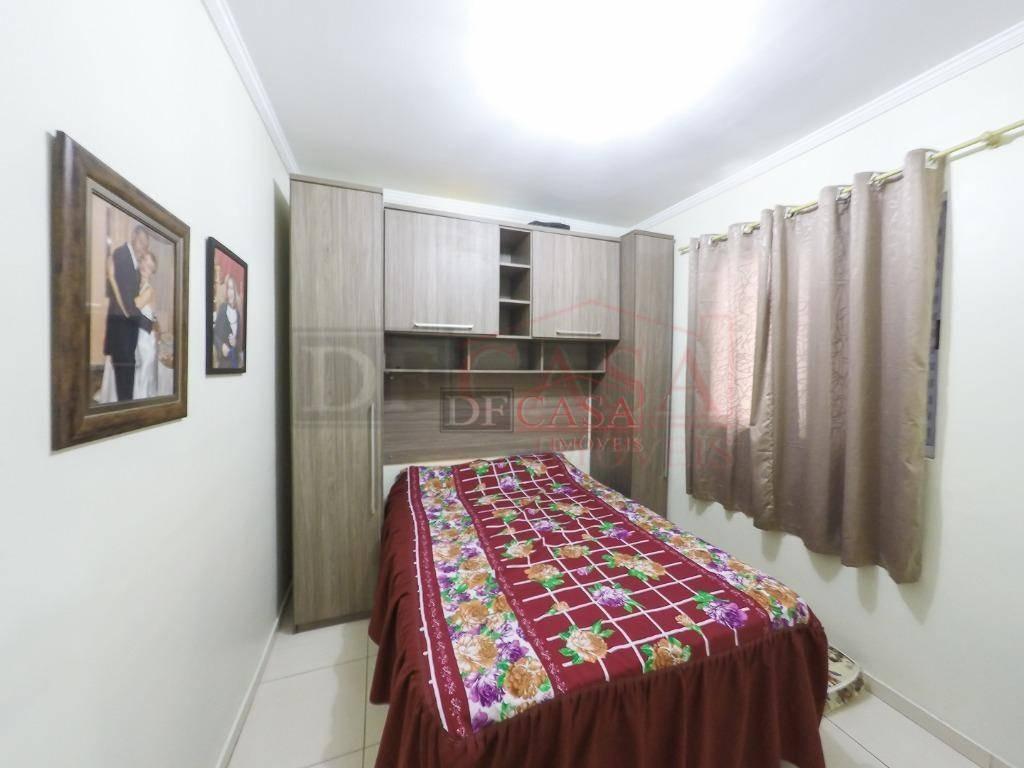 apartamento com 2 dormitórios à venda, 44 m² por r$ 160.000 - vila são carlos - itaquaquecetuba/sp - ap4202