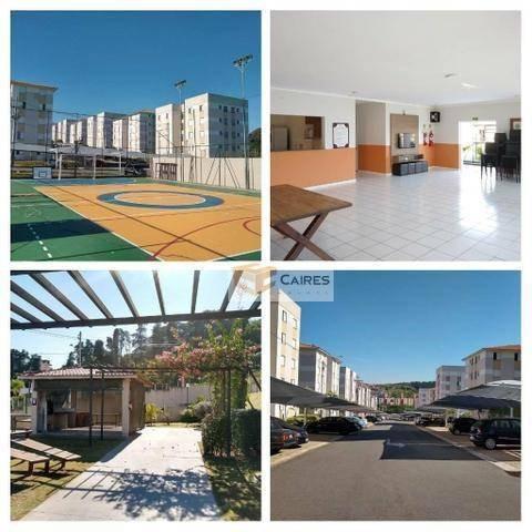apartamento com 2 dormitórios à venda, 44 m² por r$ 210.000 - nova espirito santo - valinhos/sp - ap7203