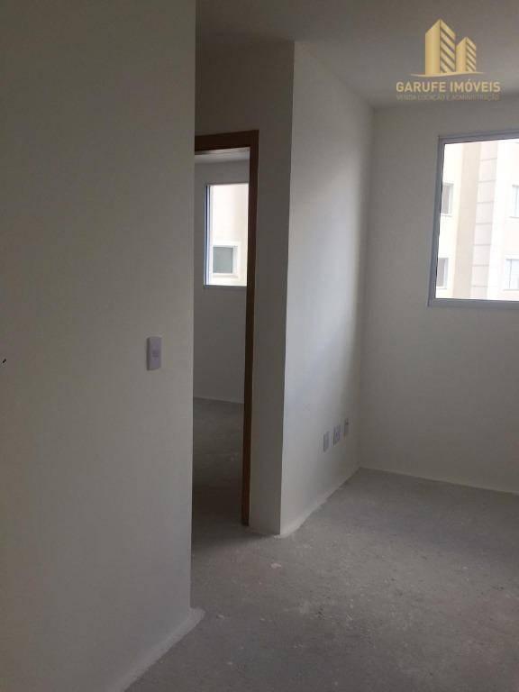 apartamento com 2 dormitórios à venda, 44 m² por r$ 212.000,00 - jardim das indústrias - são josé dos campos/sp - ap1371
