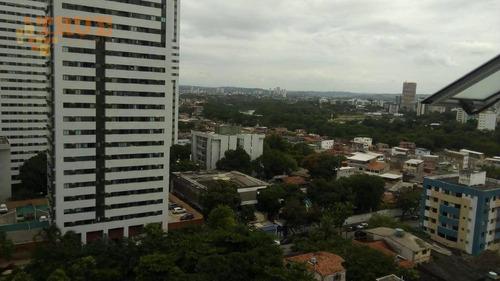 apartamento com 2 dormitórios à venda, 44 m² por r$ 300.000,00 - madalena - recife/pe - ap3375