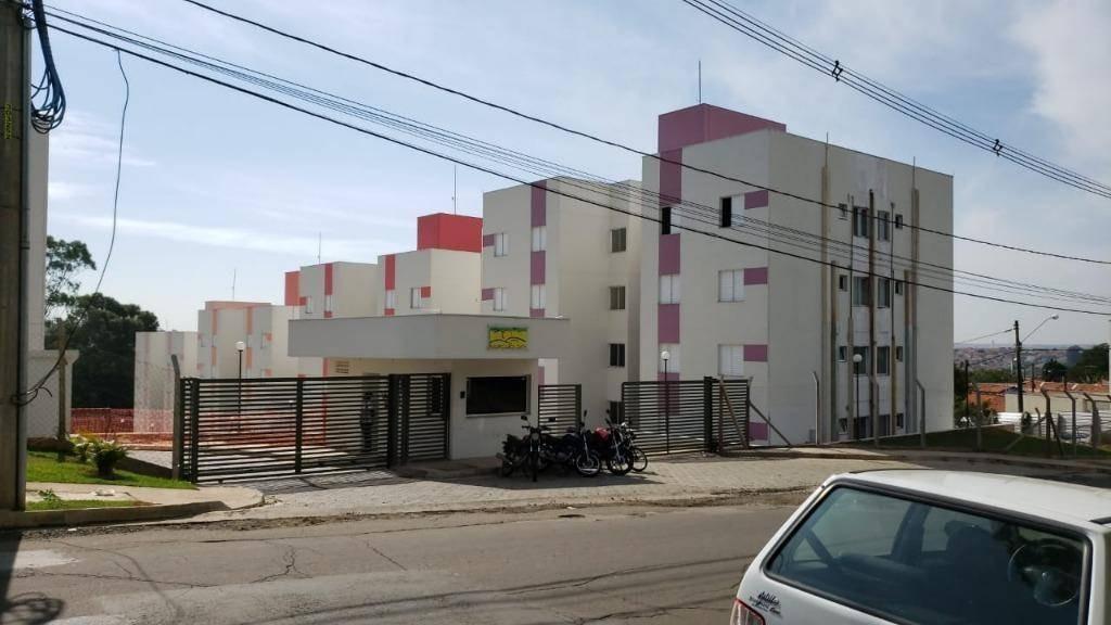 apartamento com 2 dormitórios à venda, 45 m² por r$ 128.000,00 - alto castelani - capivari/sp - ap0301