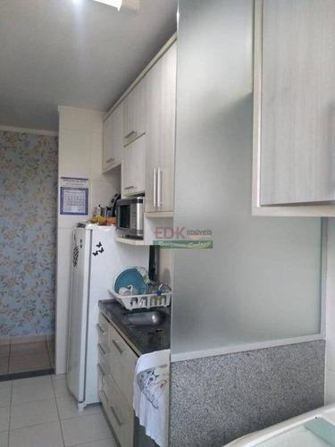apartamento com 2 dormitórios à venda, 45 m² por r$ 130.000,00 - esplanada independência - taubaté/sp - ap2855