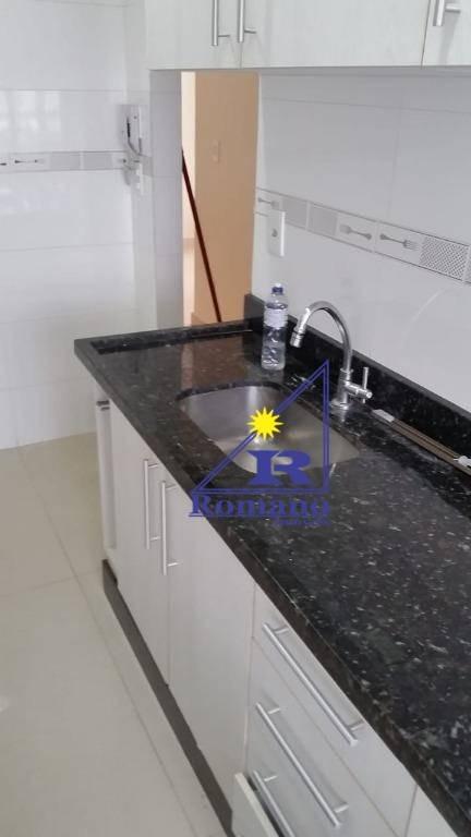 apartamento com 2 dormitórios à venda, 45 m² por r$ 170.000 - jardim são miguel - ferraz de vasconcelos/sp - ap3751