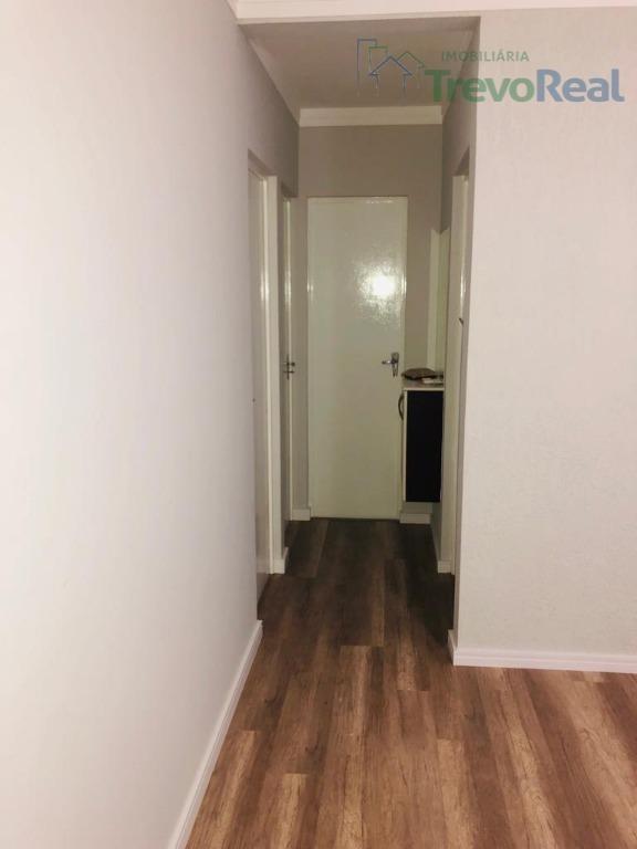 apartamento com 2 dormitórios à venda, 45 m² por r$ 185.000 - condomínio alvorada i - valinhos/sp - ap0941
