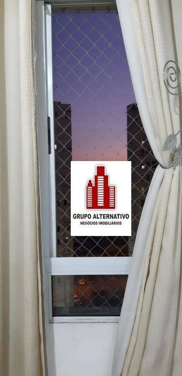 apartamento com 2 dormitórios à venda, 45 m² por r$ 232.000 - ponte grande - guarulhos/sp - ap1256