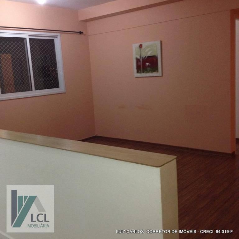 apartamento com 2 dormitórios à venda, 45 m² por r$ 234.000,00 - jardim clementino - taboão da serra/sp - ap0057