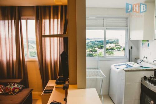 apartamento com 2 dormitórios à venda, 45 m² por r$ 235.000 - jardim satélite - são josé dos campos/sp - ap1980