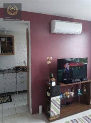 apartamento com 2 dormitórios à venda, 45 m² por r$ 245.000,00 - centro - viamão/rs - ap0063