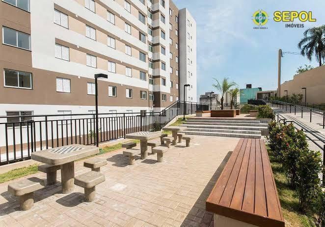 apartamento com 2 dormitórios à venda, 45 m² por r$ 266.000 - itaquera - são paulo/sp - ap0449